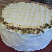 Honey Pistachio Cake